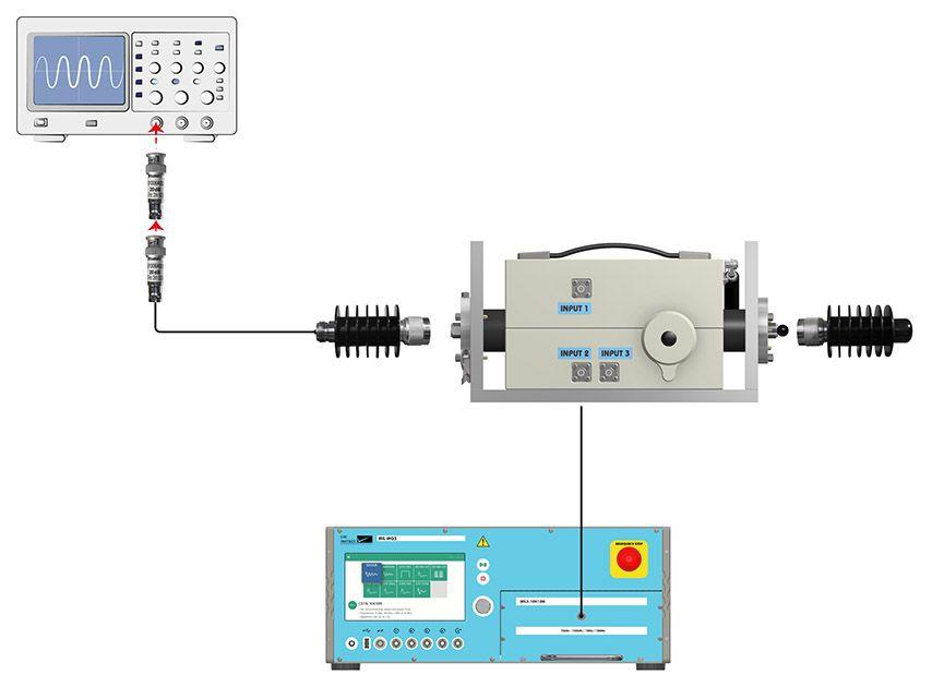 MIL testing CS116 setup 1